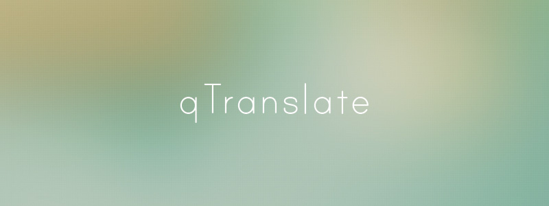 qtranslate plugin para tradução no wordpress